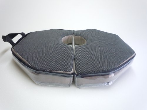 Fine Spine Coccyx Cushion for Sciatica Nerve Pain Relief. Your Sciatica Seat Cushion for Lower Back Pain and Coccyx Discomfort with Travel Case Included.