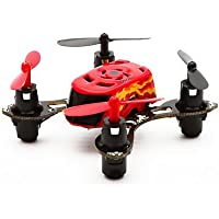 Ultra-Small Quadcopter with Integrated LED Lights