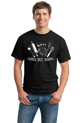 CHOOSE YOUR WEAPON Unisex T-shirt / Cute Baking, Funny Cooking Tee