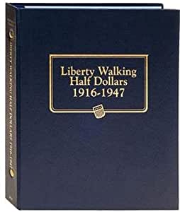 Whitman Harris Liberty Walking Halves Album 1916-1947