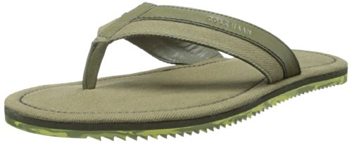 Cole Haan Flip Flops - Cole Haan Men's Meyer Thong Flip-Flop,Fatigue,7.5 M US