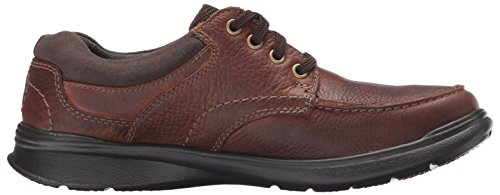 Clarks Hombres Cotrell Edge Oxford Tobacco Oily