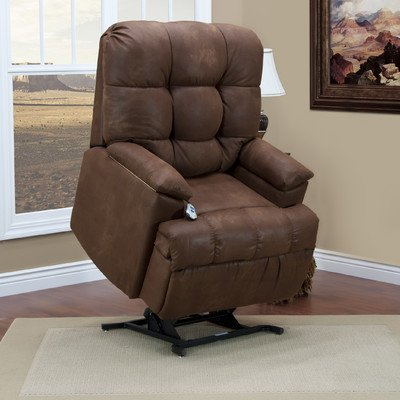 5600 Series Wall-a-Way Reclining Lift Chair Upholstery: Stampede - Tanner, Moveable Infrared Heat: Yes, Vibration and Heat: Ultra-EZZ III Massage