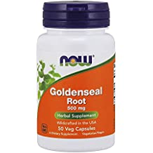 NOW Goldenseal Root 500 mg,50 Capsules