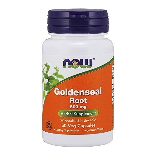 NOW Goldenseal Root 500 mg,50 Capsules Review