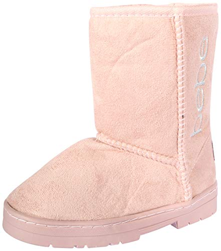 bebe Girls Winter Boots with Side Logo (Toddler/Little Kid/Big Kid) (5 M US Toddler, ()