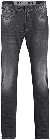 MAC Herren Jeans Ben Pipe 0370 Black Legend Used H886