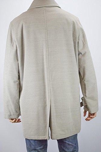 Cashmere Uomo Velluto Beige Misto Brand Coste Beige Giacca Lunga 56 Tipo Chiaro No gqHvFUctt