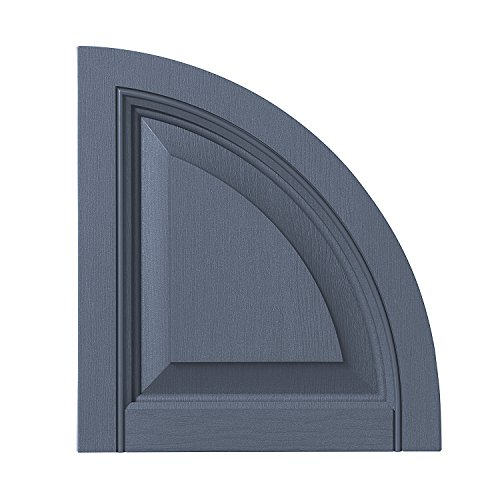 PlyGem Shutters and Accents ARCH15RP 41 Raised Panel Arch...