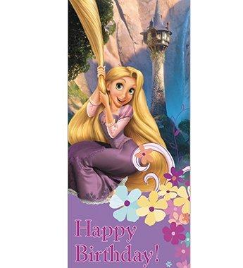 Tangled Birthday Door Poster