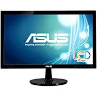 ASUS VS207D-P Black 19.5 1600 x 900 5ms Widescreen LED Backlight LCD Monitor 80,000,000:1