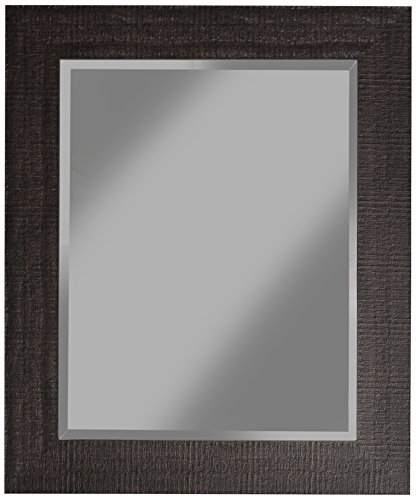 Espresso Mirror - Sandberg Furniture 18817 Wall Mirror, 36