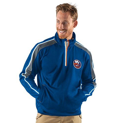 NHL New York Islanders Men's Synergy Half Zip Pullover Jacket, XX-Large, Royal - Ny Islanders Jacket