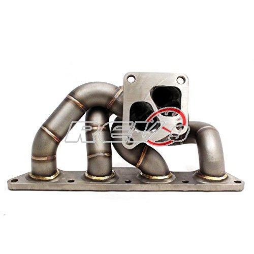 hp-series evo7 EVO8 evo9 4 G63 de Igualdad de longitud Turbo Colector Calibre 11/3,1 mm Grosor de la pared: Amazon.es: Coche y moto