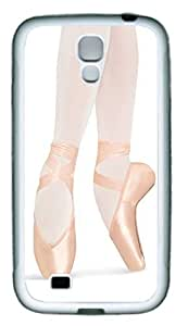 Ballet Pointe Theme Samsung Galaxy S4 i9500 Case TPU Material