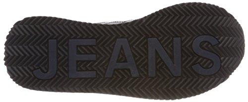 Bianco Scarpe Sneaker Rwb Hilfiger Denim Donna da Basse Ginnastica 020 Retro Casual wOwzqxIU