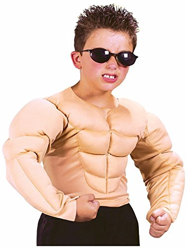 Fun World Muscle Shirt Costume, Medium 8 - 10, Multicolor - http://coolthings.us