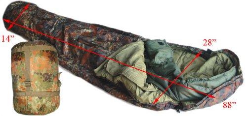 US Army Style Modular Sleeping Bag System--Flectar