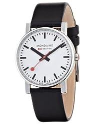 Mondaine Men's A658.30300.11SBB Quartz Evo Leather Band Watch