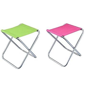 isasar Ultra pequeño compacto plegable silla camping al aire ...