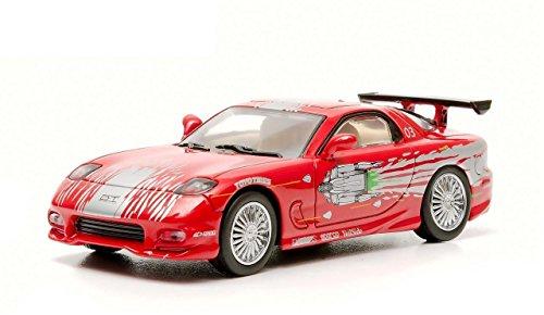 Car 7 Mazda Red Rx - 1993 Mazda RX-7 Red