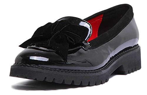 1 175 A Stivali zc 285 Reece Justin Patent Donna Black natalie qYTnt