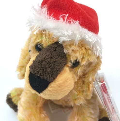 TY Jingle Beanies JINGLEPUP the Dog (Smaller than Beanie Baby)