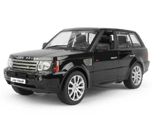 RASTAR 1/14 RC Car Toy Radio Control Land Rover-Range Rover Sport Car-Black ()