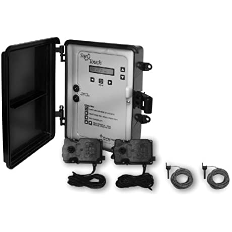 Pentair 520856 SunTouch Pool And Spa Solar Control System With 3 Way Valve Black Grey