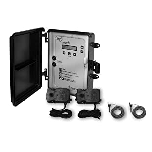 Pentair 520819 SunTouch Pool and Spa Solar Control System with 1 Solar Valve, Black/Grey