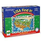 : Find It! USA Floor Puzzle