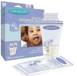 Lansinoh Pre-sterilised Breastmilk Baby Breast Milk Stora...