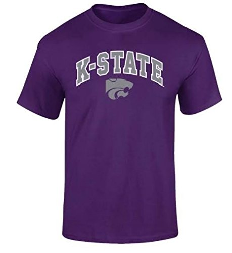 Kansas State Wildcats TShirt Arch Purple - M