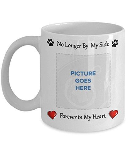 Personalized Pet Memorial Mug Customized Photo Rainbow Bridge Pet Memorial Cat Dog Lovers Pet Memorial Gifts Custom Coffee Mug