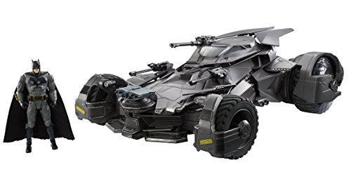 Justice League Ultimate Batmobile RC Vehicle & Figure from DC Comics