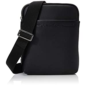 Calvin Klein Men's Flex 2g Flat Crossover Shoulder Bag