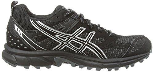 ASICS Gel-Trail Lahar 6 G-TX - Zapatillas de deporte para mujer Negro (Black / Titanium / Black 9097)