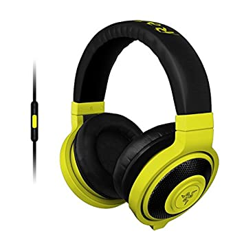 Razer Kraken Mobile Frml Casque Pc Néon Jaune Amazonfr High Tech