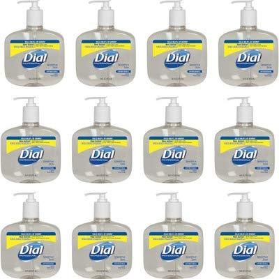DIA80784 - Antimicrobial Soap for Sensitive Skin, 16 Oz Pump