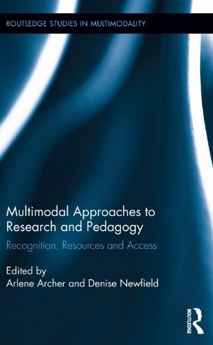 Download Multimodal Approaches to Research and Pedagogy: Recognition, Resources, and Access (Routledge Studies in Multimodality) Pdf