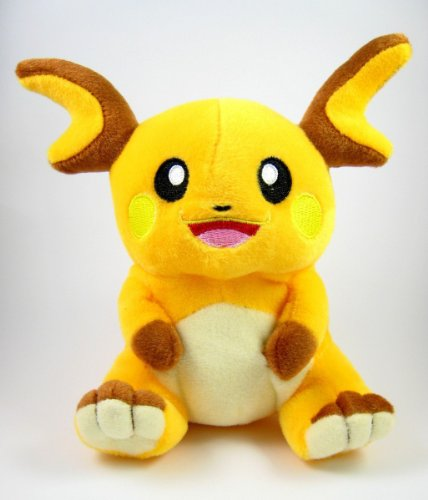 Pokemon-Plush-Toy-Raichu-Doll-Around-15cm-6-Pokemon-Sticker