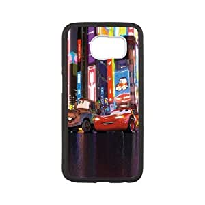 Samsung Galaxy s6 Black Cell Phone Case HUBYLW0089 Disney Cars and Mater Phone Case Cover