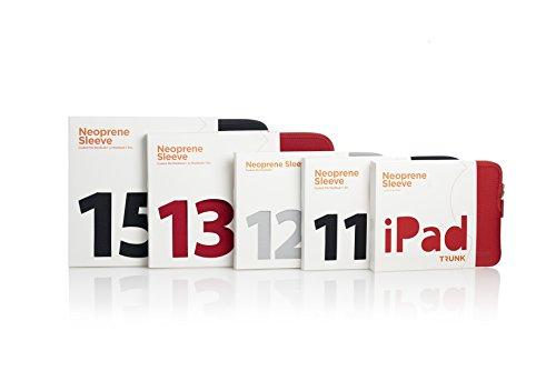 TRUNK TR-ALS13-BLK Hülle für MacBook 13 Zoll schwarz EixPWQaS5