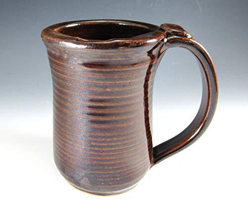 12-14 OUNCES Hand Made Pottery Mustache Mug/Pottery Moustache Mug/Mustache Cup 12-14 ounces