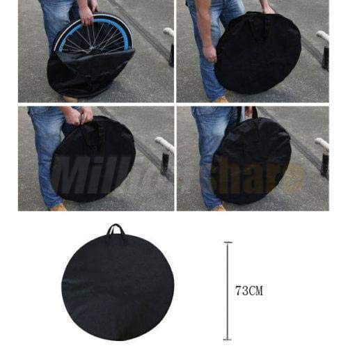 OSWHEEL Bike Travel Transport Wheel Bag Cycle Bicycle Box Case Pannier Outdoor (Box Pannier)