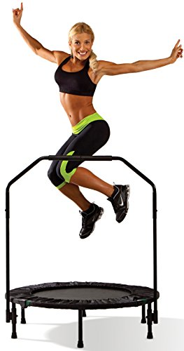 (Marcy Trampoline Cardio Trainer with Handle ASG-40)