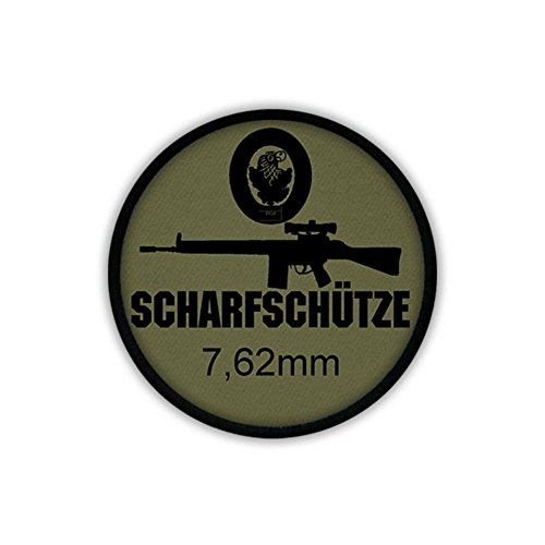 7.62mm G3 sniper rifle scope Bundeswehr weapon assault AGA paratroopers - Patch/Patches