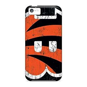 Excellent Hard Phone Case For Apple Iphone 5c With Custom Vivid Cincinnati Bengals Series Top10cases