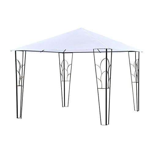 Cheap  Outsunny 10' x 10' Outdoor Decorative Garden Gazebo Patio Canopy Steel Frame..