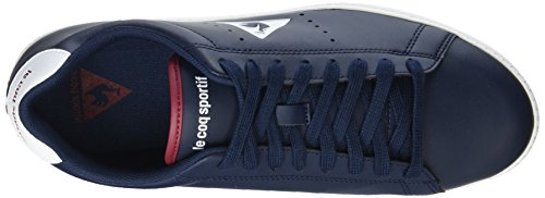 Le Coq Sportif Courtone S, Zapatillas para Hombre Azul (Dress Blue/Rouge Ruby Wine)